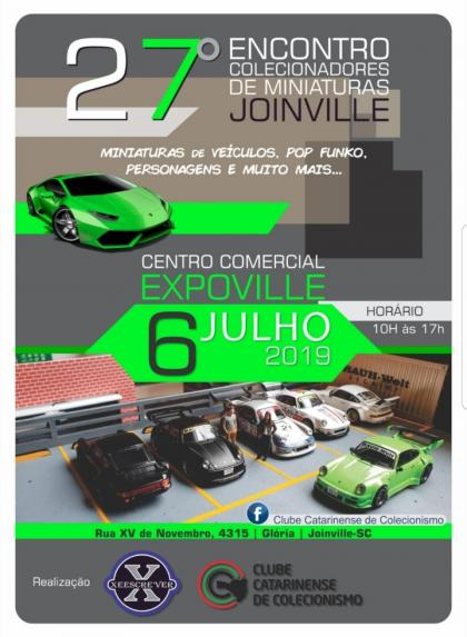 27º Encontro de Colecionadores de Miniaturas de Joinville