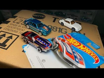 Lamley Unboxing: Check out the Rad Corvette Treasure Hunt in the Hot Wheels G Case!