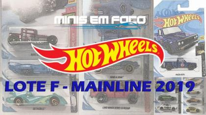 As miniaturas do lote F da Mainline 2019