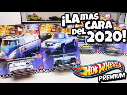 Esta si es la Nueva Coleccion Boulevard 2020 - Hot Wheels Premium, Combi, Camaro, Silverado, Skyline