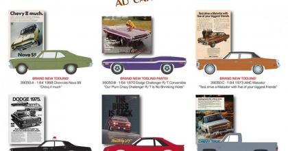 Mais carros de anúncios antigos na Greenlight