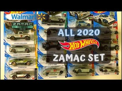 Showcase - Hot Wheels 2020 Walmart Exclusives ZAMAC Set
