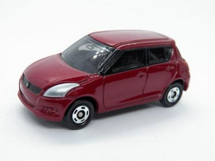 Old Toy show HAWL car# 10 Tomica Suzuki Swift