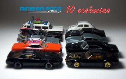 Especial dez miniaturas de entretenimento essênciais
