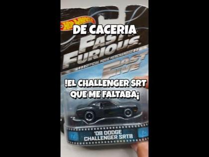 El Dodge Challenger SRT de Rapido y Furioso que me faltaba - De caceria #shorts