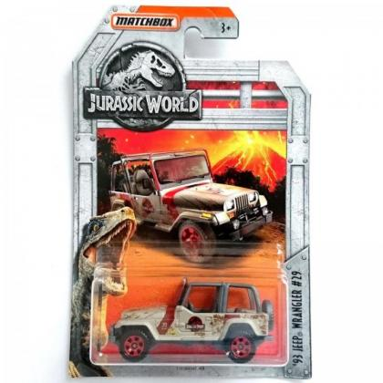 Matchbox '93 Jeep Wrangler #29 Jurassic World