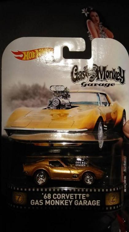 Corvette Gas Monkey na linha Replica?