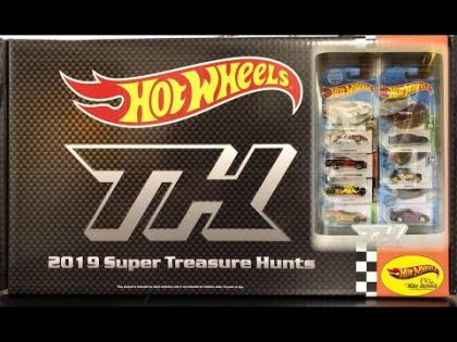 2019 Hot Wheels Super Treasure Hunt Set | Hot Wheels