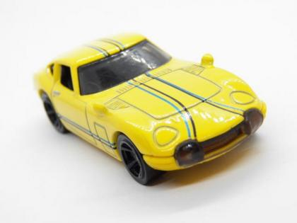 What's in the box? Car #6 Hotwheels Toyota 2000Gt