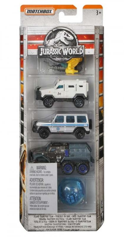 Matchbox Jurassic World 5 Pack