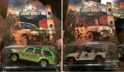 Miniaturas Jurassic World da Matchbox