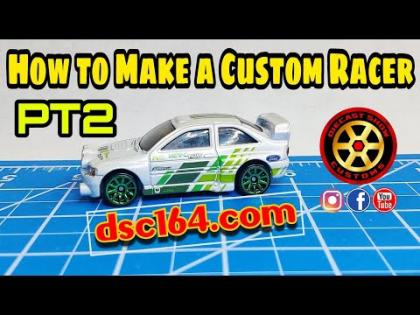 HOW TO MAKE A CUSTOM RACER HOT WHEELS PT2