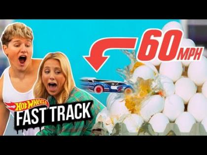 Cars Flying Through Food at 60 MPH!!!