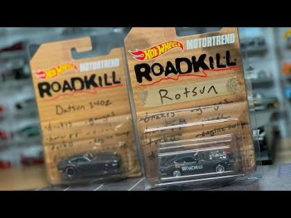 LAMLEY HOT WHEELS: HW X MotorTrend Roadkill