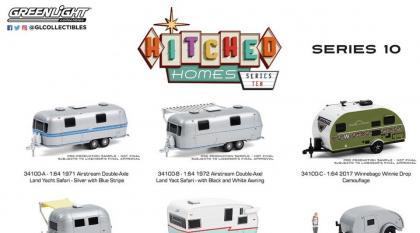 Os trailers do lote 10 da série Hitched Homes e o lote 9 chegando nas lojas dos EUA