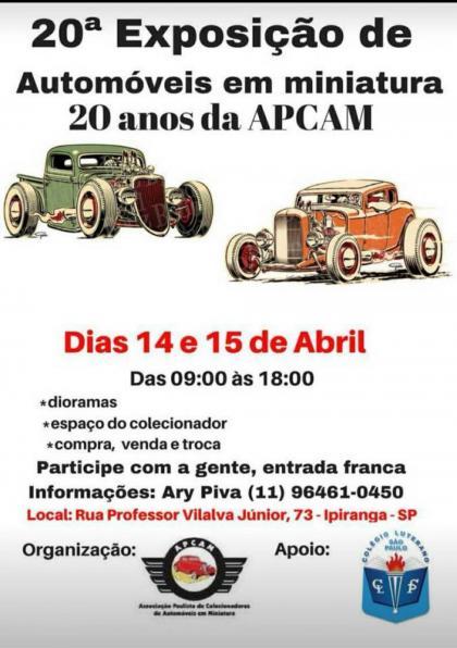 20ª Exposição de Automóveis em Miniaturas
