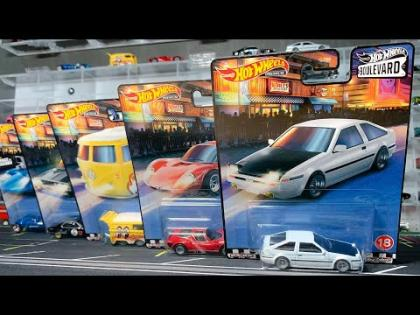 Lamley Hot Wheels: 2020 Boulevard Mix 4