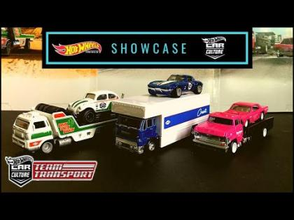 Showcase - Hot Wheels 2020 Car Culture Team Transport Mix J