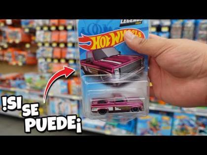 Esto fue epico¡ | Buscando la 83 CHEVY SILVERADO LEGENDS 2021, Caceria Hot Wheels en Walmart Mexico