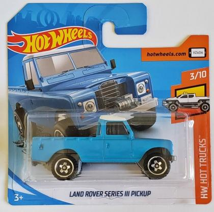 Land Rover Series III Pickup Hot Wheels