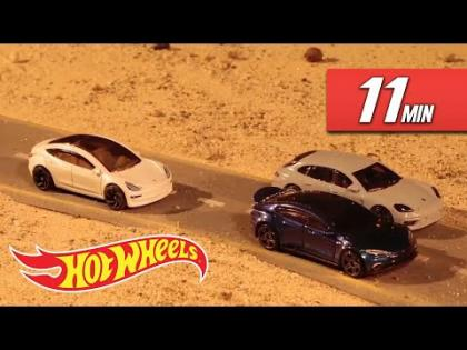 MOTOR SPEED MANIA! | Hot Wheels