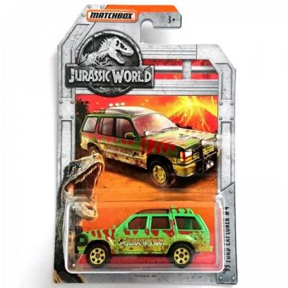 Matchbox '93 Ford Explorer #4 Jurassic World