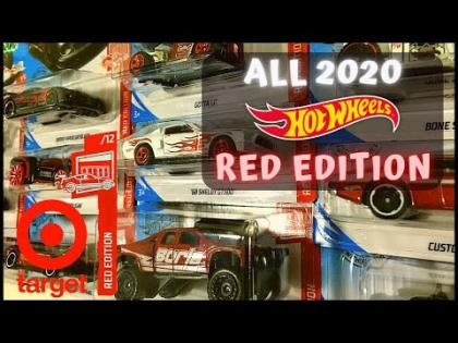 Showcase - Hot Wheels 2020 Target Exclusives Red Edition Series