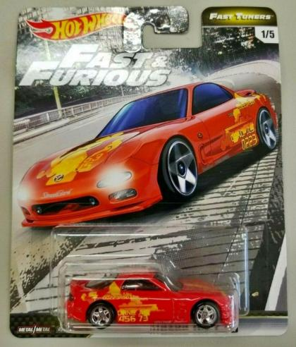 Hot Wheels Fast & Furious Premium Fast Tuners