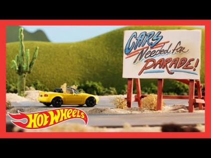 "HW ROADSTERS™ in ""ALWAYS TIME FOR A PARADE"" 