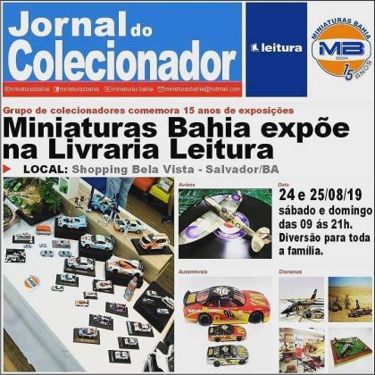 Exposição do Miniaturas Bahia