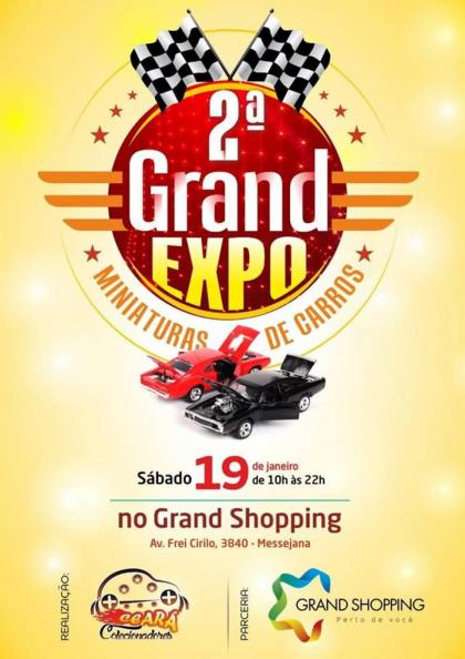 2º Grand Expo Miniaturas de Carros