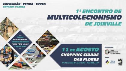 1º Encontro de Multicolecionismo de Joinville