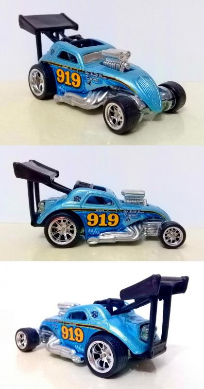 Fiat 500C / 2006 / Custom / Hot Wheels