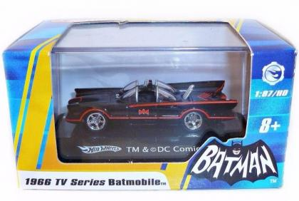 Hot Wheels 1966 TV Series Batmobile 1:87