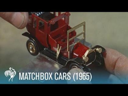 Como eram  produzidas as miniaturas Matchbox em 1965