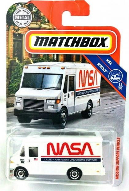2019 Matchbox NASA Mission Support Vehicle