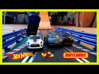 Hot Wheels vs Matchbox Carreras y Choques TEAM EXPRESS