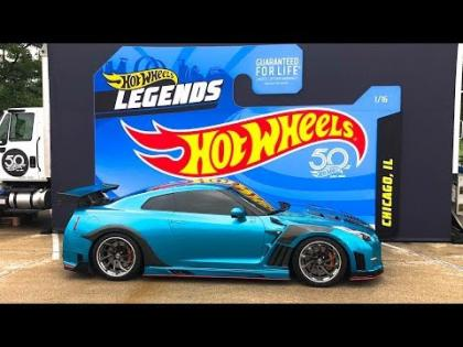 Hot Wheels Legends Tour: Epic Real Life Hot Wheels!
