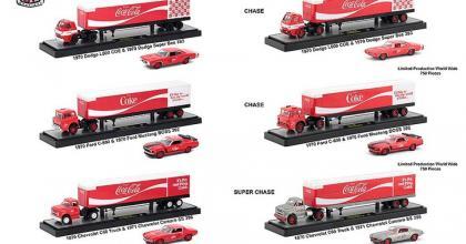 Mais carretas da M2 e da Coca-Cola
