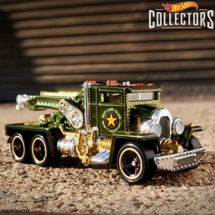 Steam Punk Truck Hot Wheels Collectors