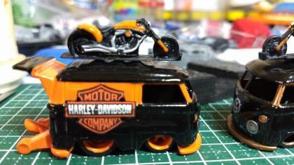 Kool Kombi Harley Davidson