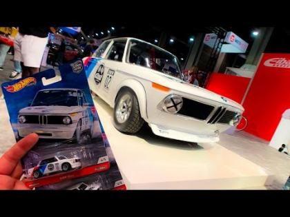 Lamley Preview: Hot Wheels Car Culture Doorslammers X Eibach BMW 2002 debuts at SEMA