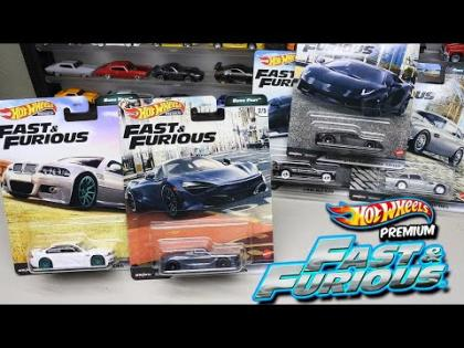 La ultima coleccion Rapido y Furioso - Hot Wheels Premium Fast & Furious Euro Fast