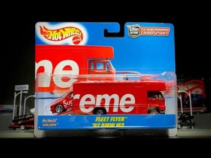 Lamley Showcase: Opening the Hot Wheels x Supreme Team Transport Set