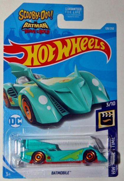 Batmobile Scooby-Doo & Batman Hot Wheels