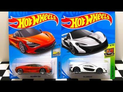 New Hot Wheels McLaren 720S And P1 Unboxing And Review!