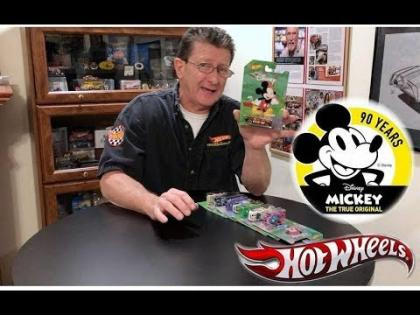 Hot Wheels Mickey Mouse 90th Anniversary Series Cars!