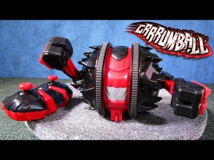GRRRUMBALL Remote Control Vehicle by ALPHA GROUP! Smash Attack and Spin Attack Action!