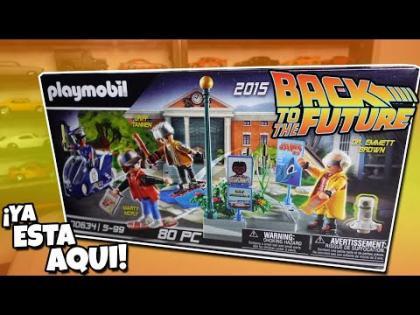 Armemos mi set del futuro de Volver al Futuro Playmobil   Back to the future Hoverboard & MR. Fusion