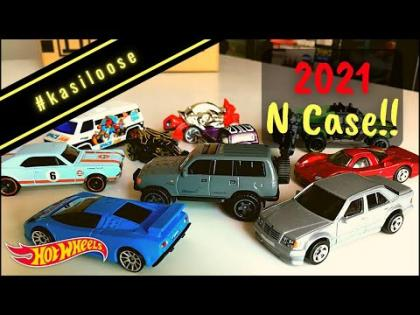 #kasiloose - Opening up models from 2021 Case N!! Land Cruiser and Benz 500E!!